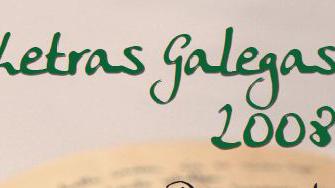 Letras Galegas 2008