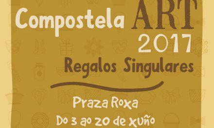 Obxectos e regalos singulares, en Compostela Art 2017