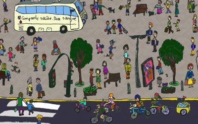 Santiago Centro y el CC Compostelano convocan la segunda Marcha Ciclista +BICI