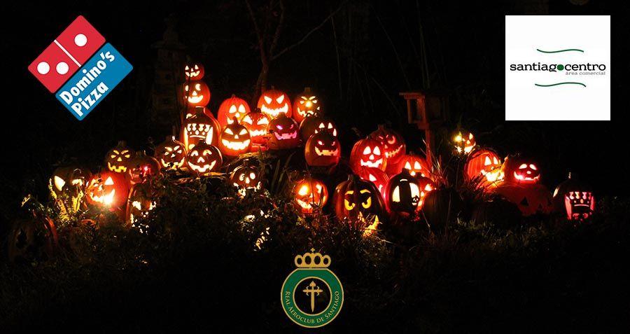 Festa infantil de Halloween do Real Aeroclub de Santiago