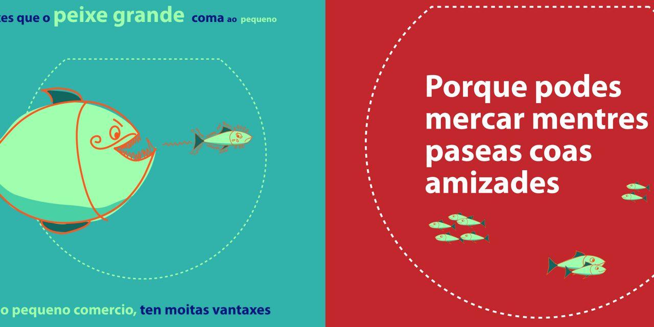 A campaña de EM-REDE e Santiago Centro, nos medios de comunicación