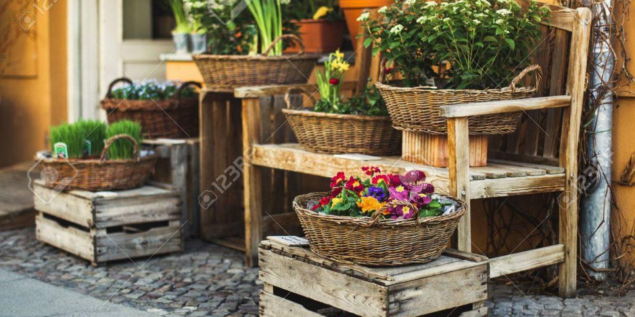 Flores, letras e ofertas, na Primavera de Santiago Centro