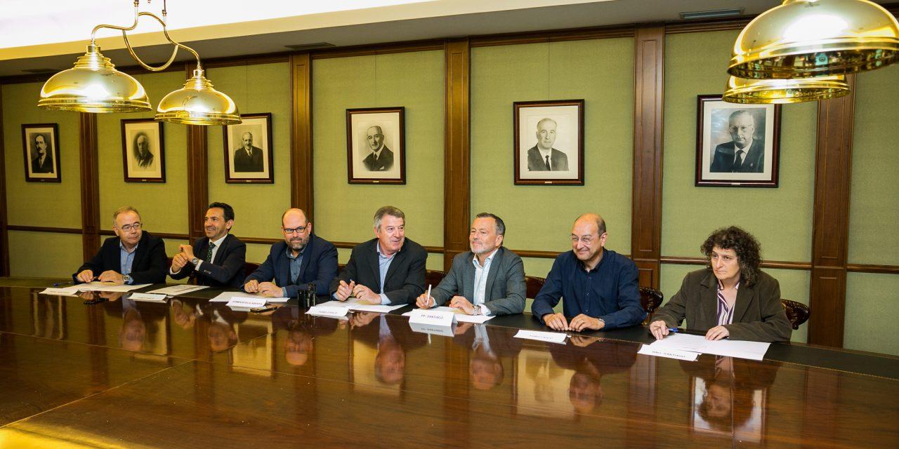 Santiago Centro, presente en la firma del acuerdo del Foro Cívico con los candidatos a la alcaldía