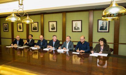Santiago Centro, presente na firma do acordo do Foro Cívico cos candidatos á alcaldía