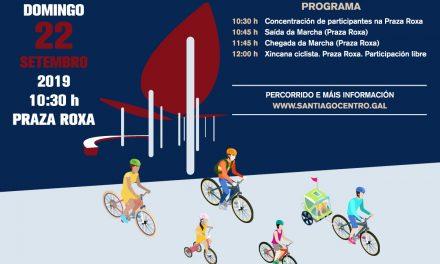 A marcha ciclista popular +BICI chega o domingo 22 á terceira edición