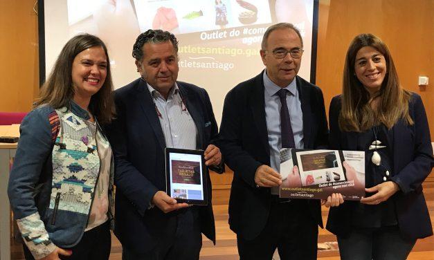 Santiago Centro presenta a web outlet do comercio local santiagués