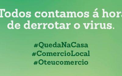 Santiago Centro e EmRede solicitan aos propietarios flexibilidade nos pagos das rendas de locais