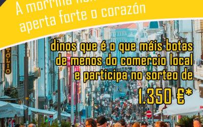 Gaña vales de compra nos centros comerciais abertos de Galicia co concurso #MorriñaDeTi