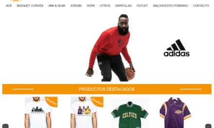 40% de desconto nos produtos de baloncesto na web de Tiro Libre