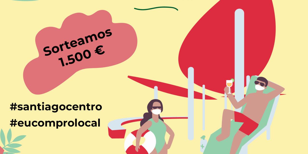 Gana 1.500€ en compras participando en el concurso de 'selfies' de Santiago Centro