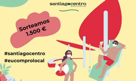 Gaña 1.500€ en compras participando no concurso de 'selfies' de Santiago Centro