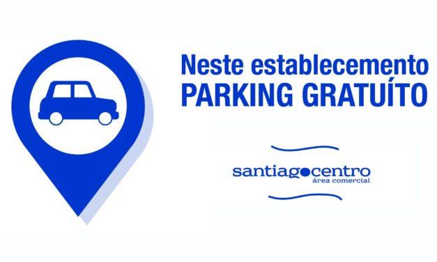 Santiago Centro anima aos comercios a sumarse ao programa de aparcadoiro gratuíto