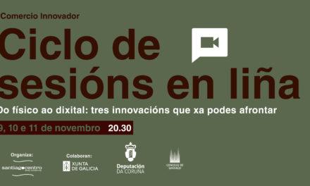 Ciclo de sesións en liña: Do físico ao dixital