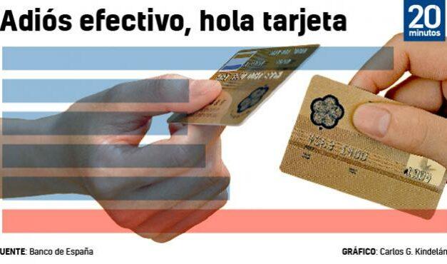 A pandemia empuxa a deixar efectivo: o 70% dos españois leva menos de cinco euros carteira